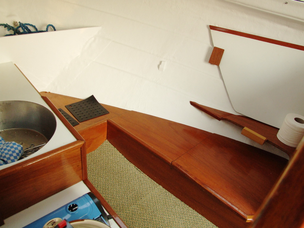 The Cabin - To Starboard, Forward of the Bulkheads